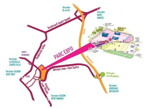 Infos pratiques parc expositions location salle de for Parc des expositions niort