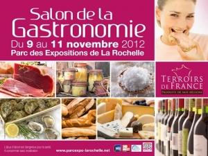 Salon de la gastronomie la rochelle 9 au 11 novembre for Salon deco la rochelle